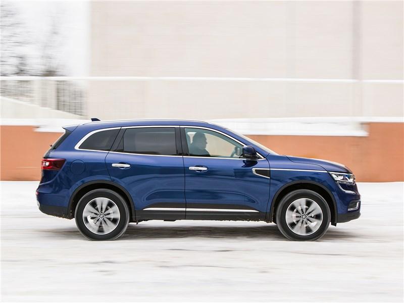 Renault Koleos 2017 вид сбоку