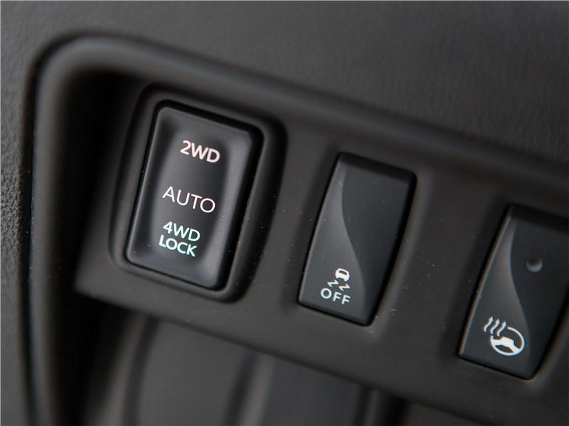 Renault Koleos 2017 кнопки