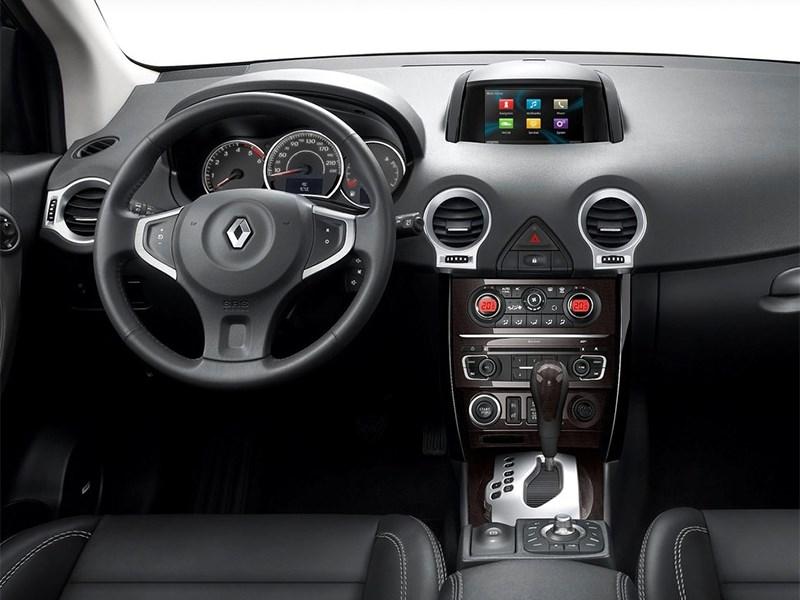 Renault Koleos 2014 водительское место