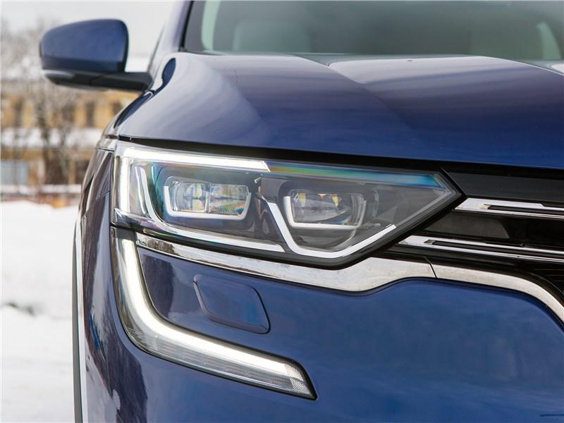 Renault Koleos 2017 передняя оптика
