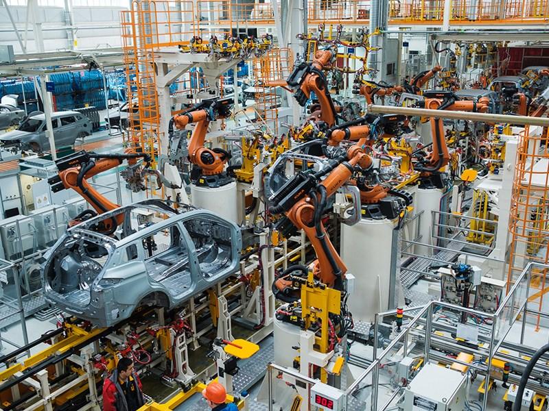 В Республики Беларусь запустили новый завод Geely