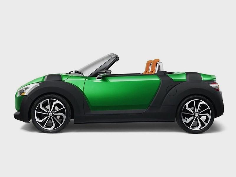 Daihatsu Kopen concept 2014 вид сбоку