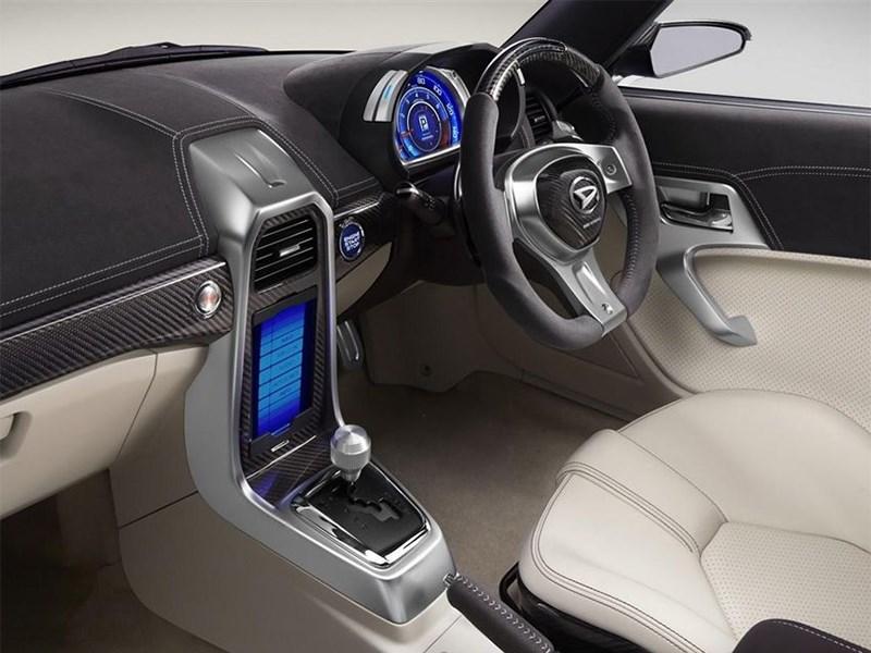 Daihatsu Kopen concept 2014 водительское место