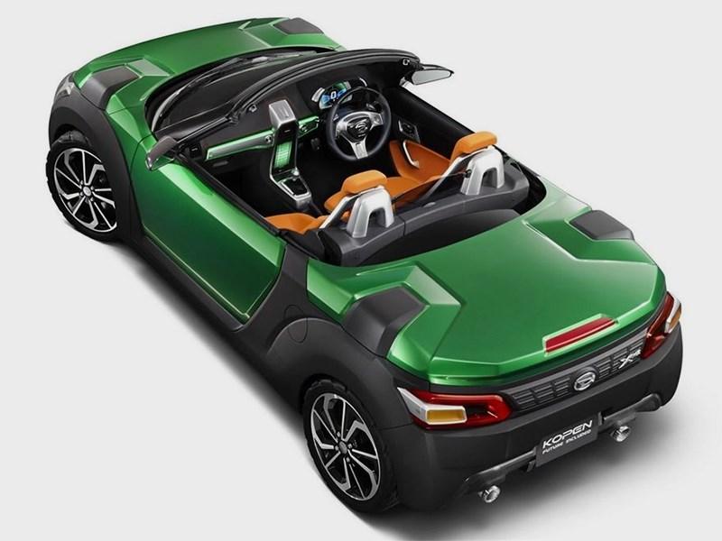 Daihatsu Kopen concept 2014 вид сзади