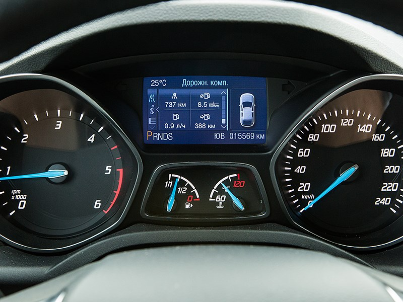 Ford Kuga 2013 приборная панель