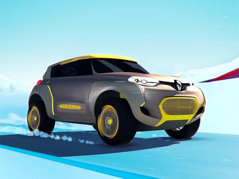 Renault Kwid concept 2014 вид спереди