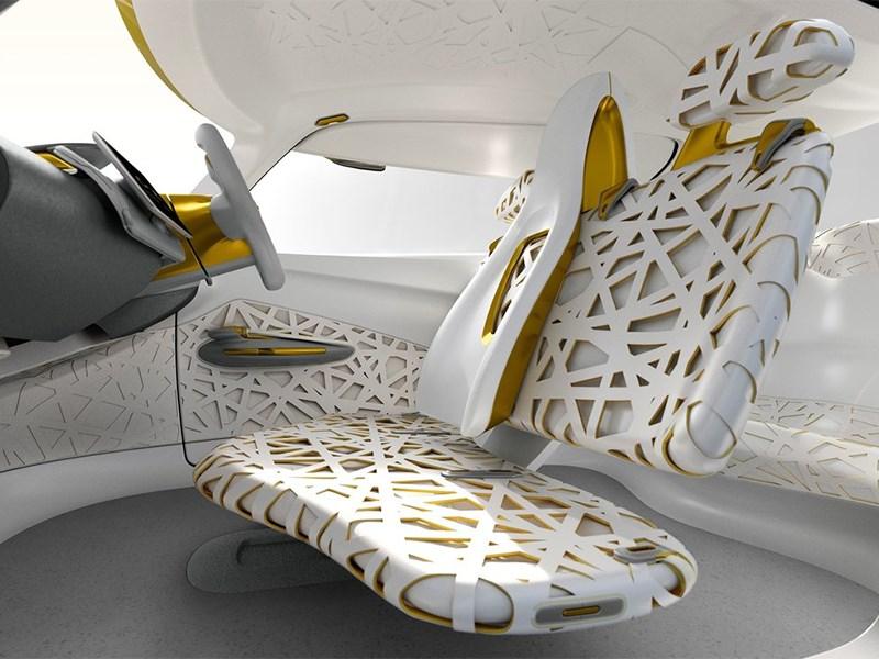 Renault Kwid concept 2014 салон фото 3