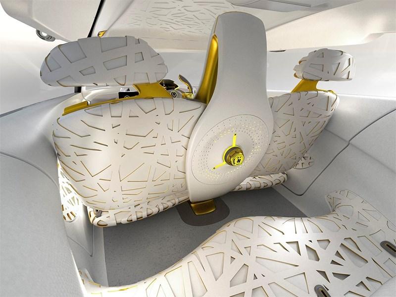 Renault Kwid concept 2014 салон фото 4