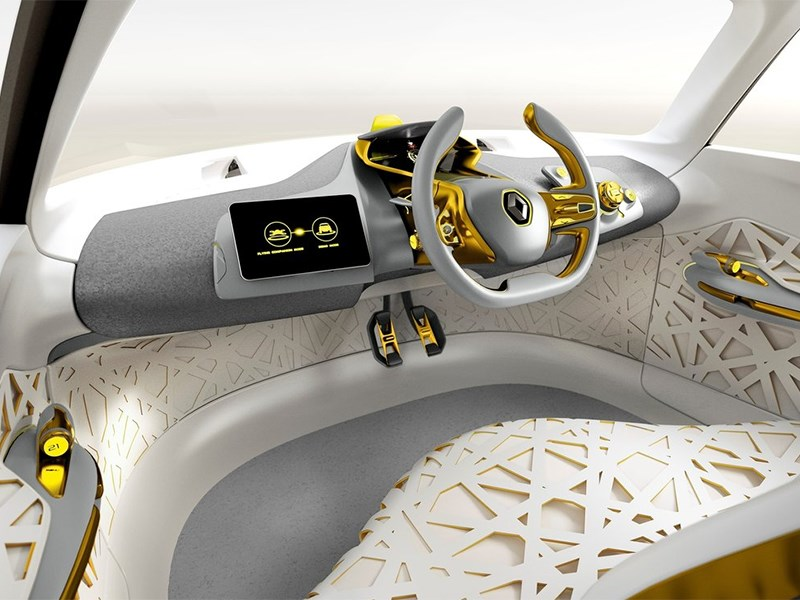 Renault Kwid concept 2014 салон фото 2