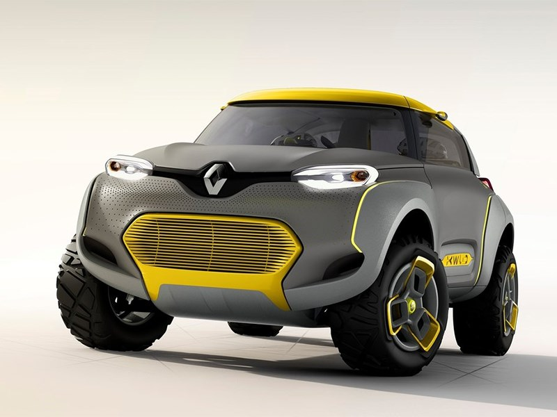Renault Kwid concept 2014 вид спереди фото 2
