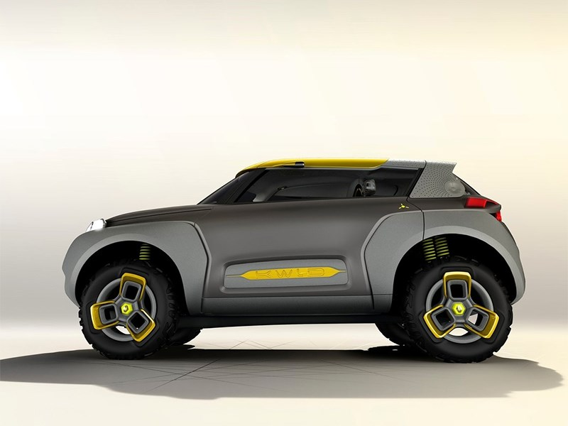 Renault Kwid concept 2014 вид сбоку фото 2