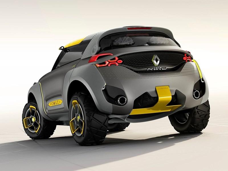 Renault Kwid concept 2014 вид сзади