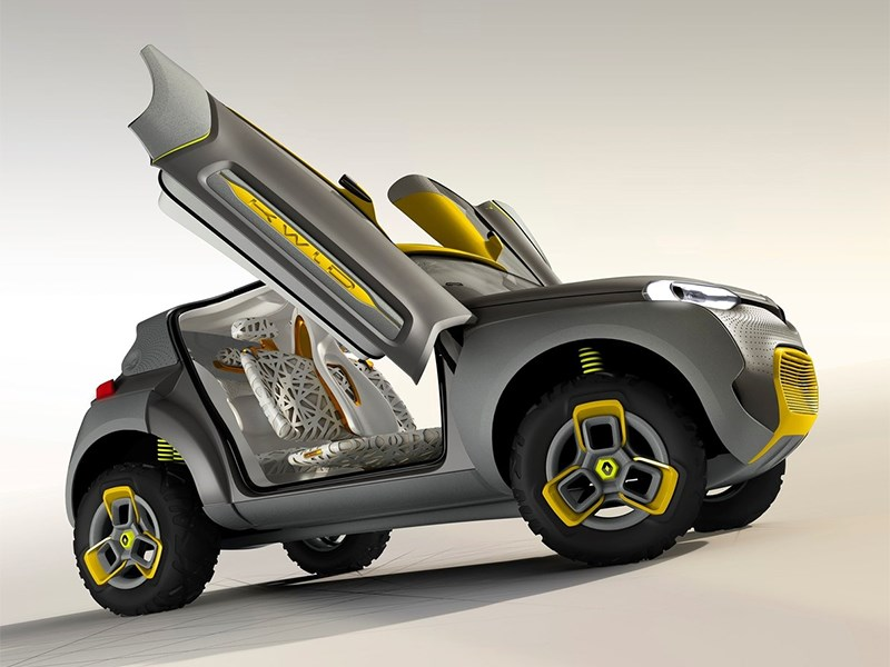 Renault Kwid concept 2014 вид сбоку фото 3