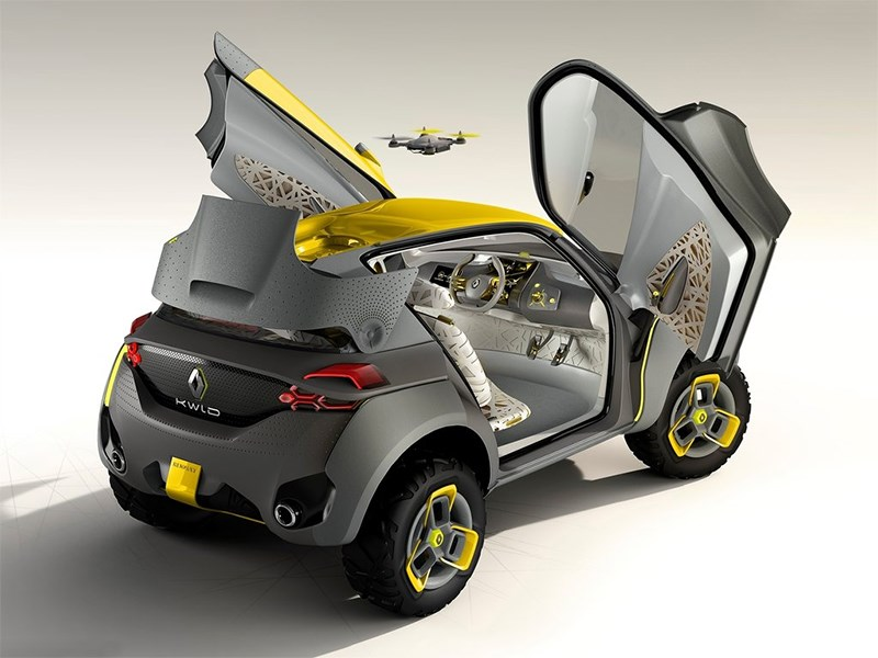 Renault Kwid concept 2014 вид сбоку фото 4
