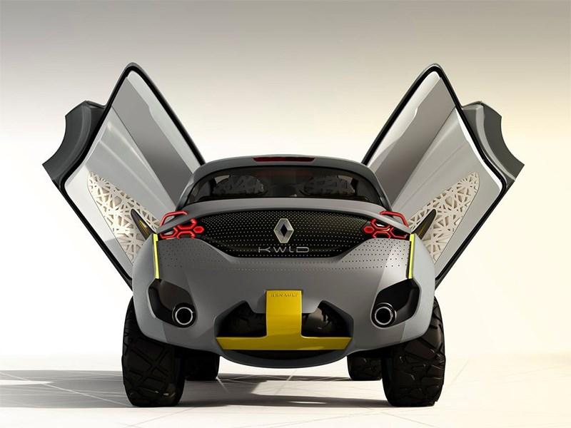 Renault Kwid concept 2014 вид сзади фото 2