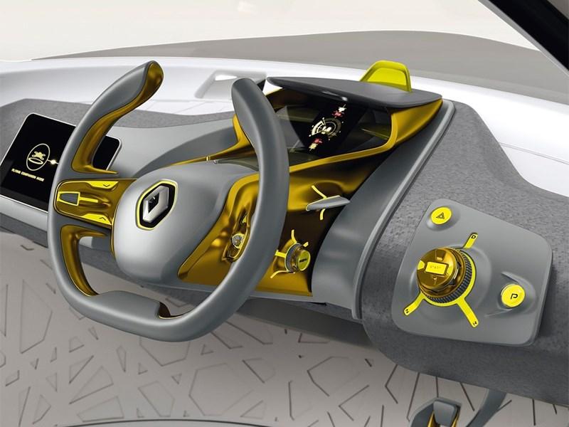 Renault Kwid concept 2014 водительское место