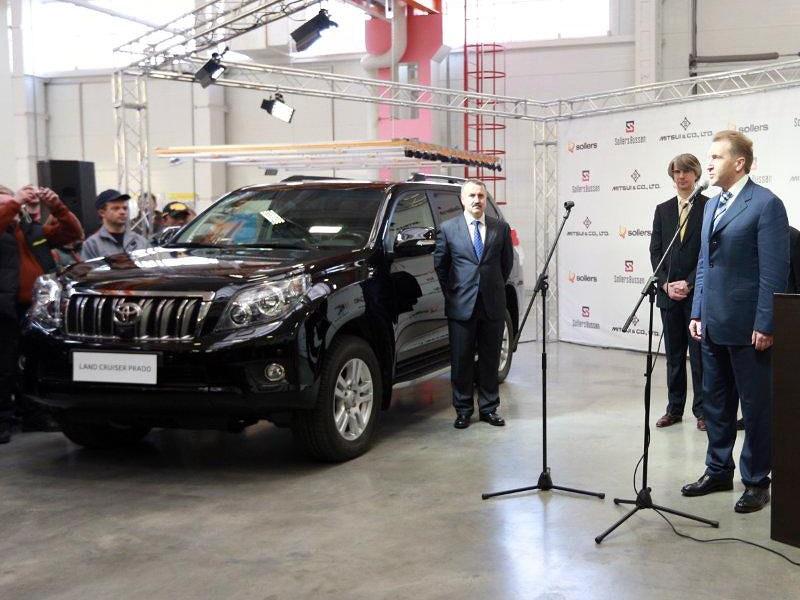 Во Владивостоке начали производить Toyota Land Cruiser Prado