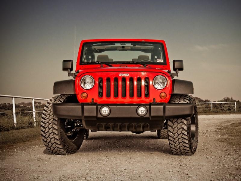 Jeep Wrangler представят вконце осени 2017