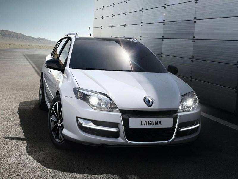 Renault Laguna 2013 вид спереди