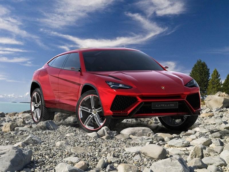 Новый Lamborghini Urus - Lamborghini Urus concept 2012 вид спереди