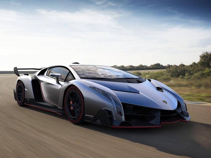 Новый Lamborghini Veneno - Lamborghini Veneno 2013 вид спереди