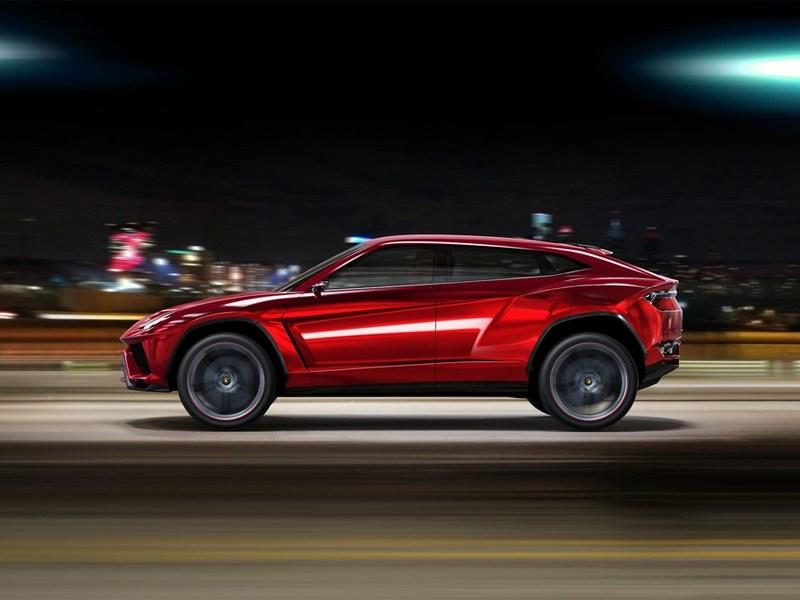 Lamborghini Urus concept 2012 вид сбоку
