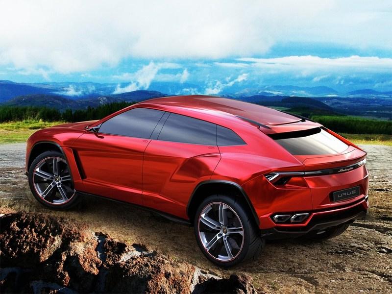 Lamborghini Urus concept 2012 вид сзади