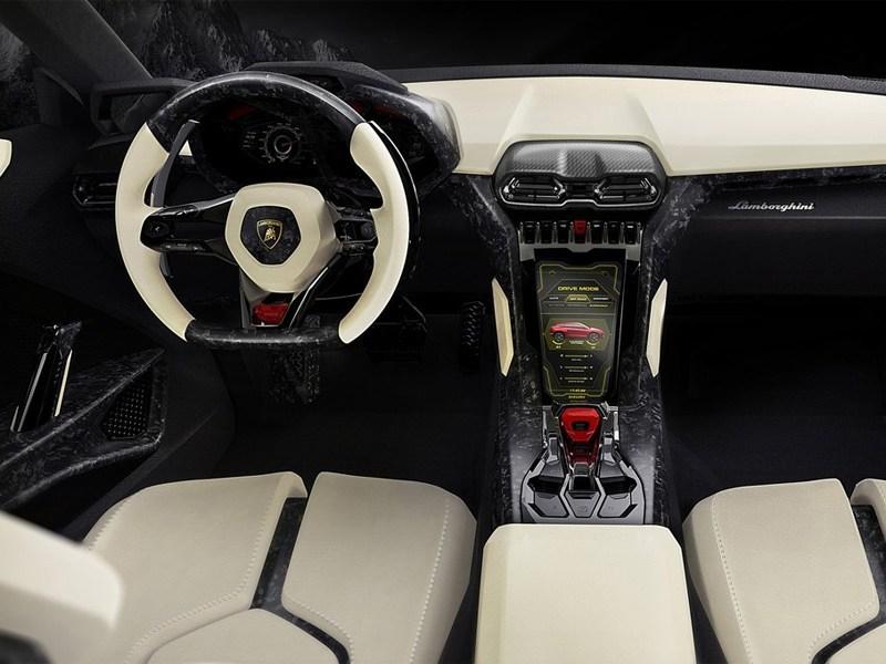 Lamborghini Urus concept 2012 водительское место