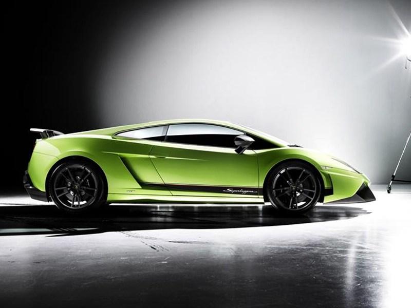 Lamborghini Gallardo LP550-2 MLE 2012 вид сбоку