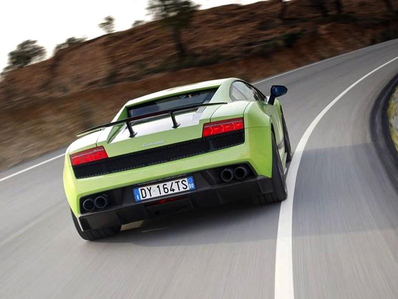 Lamborghini Gallardo LP550-2 MLE 2012 вид сзади