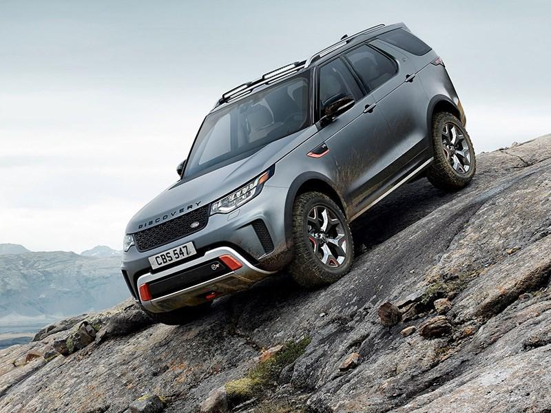 Land Rover представил экстремальный Discovery - автоновости