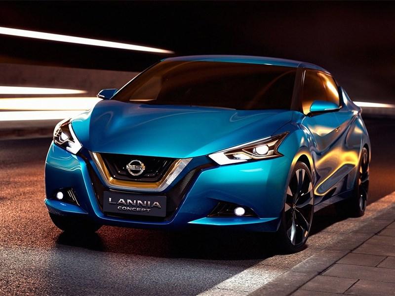 Nissan Lannia concept 2014 вид спереди