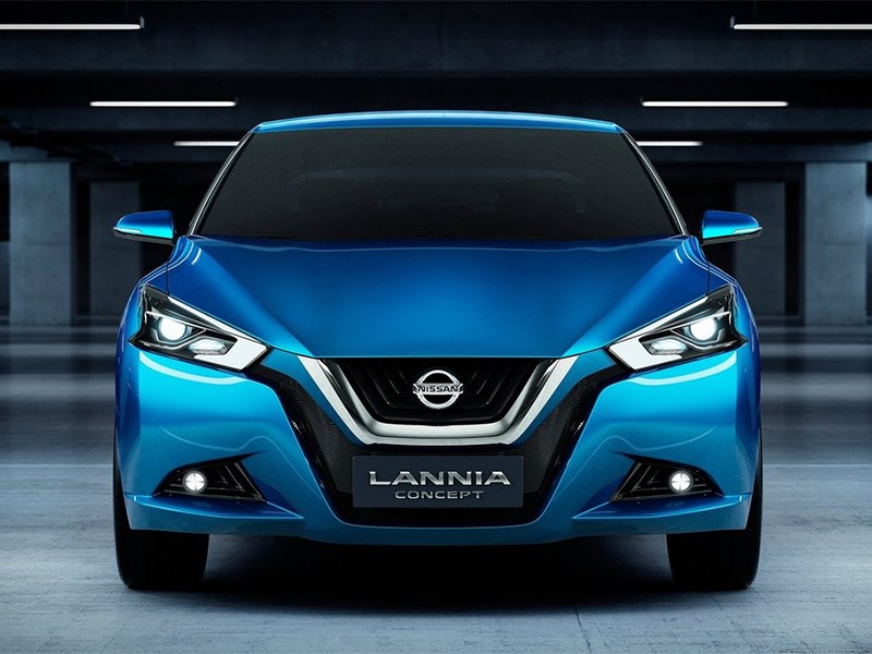 Nissan Lannia concept 2014 фронт