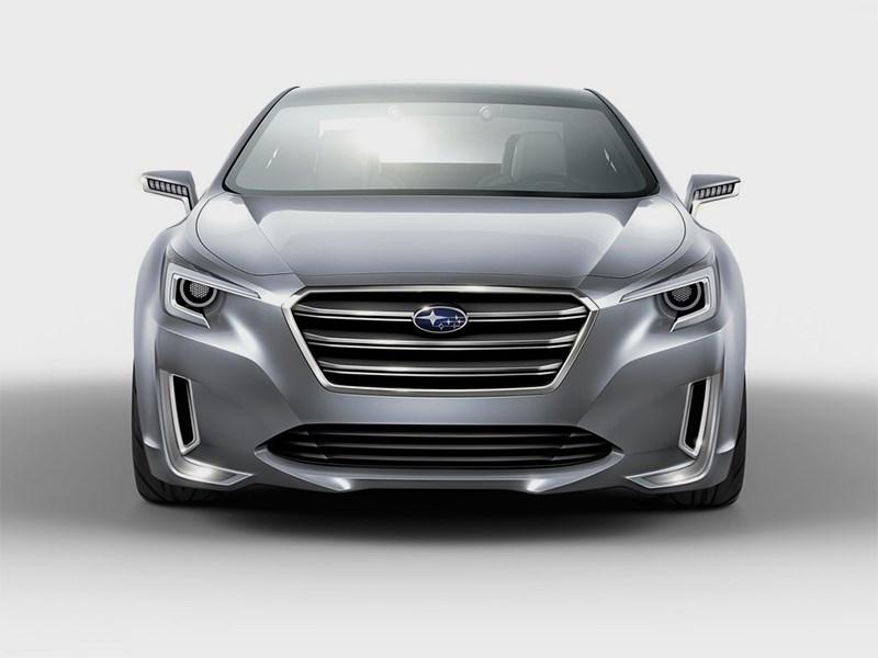 Subaru Legacy concept 2013 вид спереди