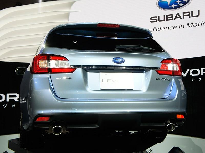 Subaru Levorg concept 2013 вид сзади