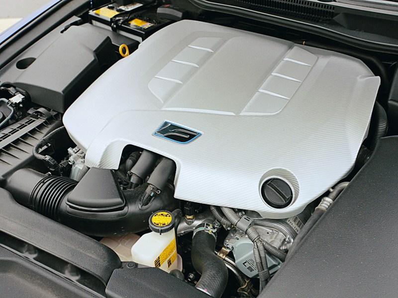 Lexus IS-F 2011 двигатель
