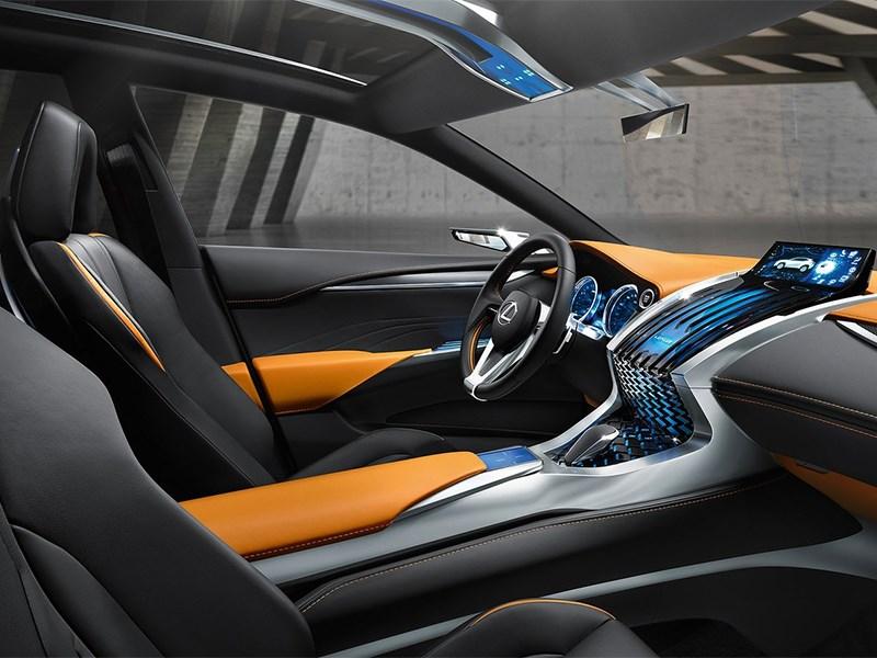 Lexus LF-NX концепт 2013 передние кресла