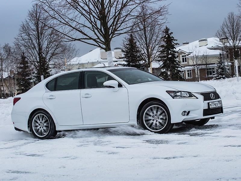 Lexus GS 2013 вид сбоку