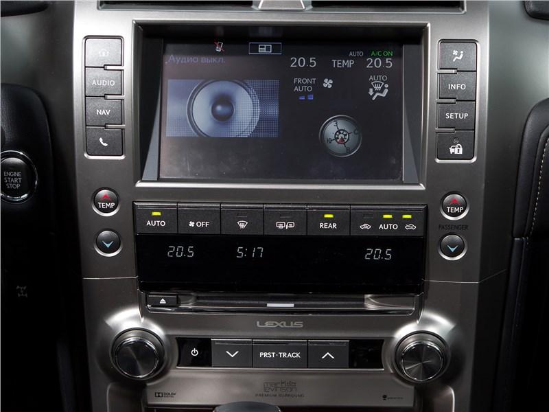 Lexus GX 460 2014 центральная консоль