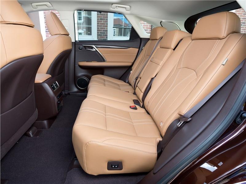Lexus RX 2016 задний диван
