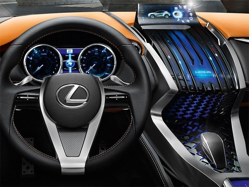 Lexus LF-NX концепт 2013 водительское место