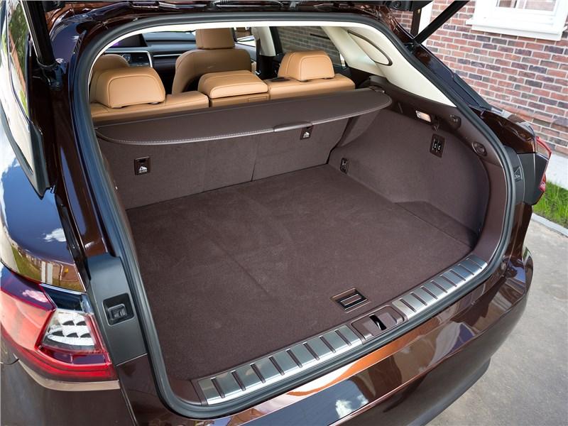 Lexus RX 2016 багажное отделение