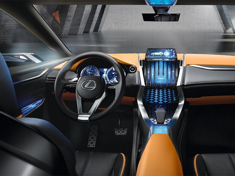 Lexus LF-NX концепт 2013 салон