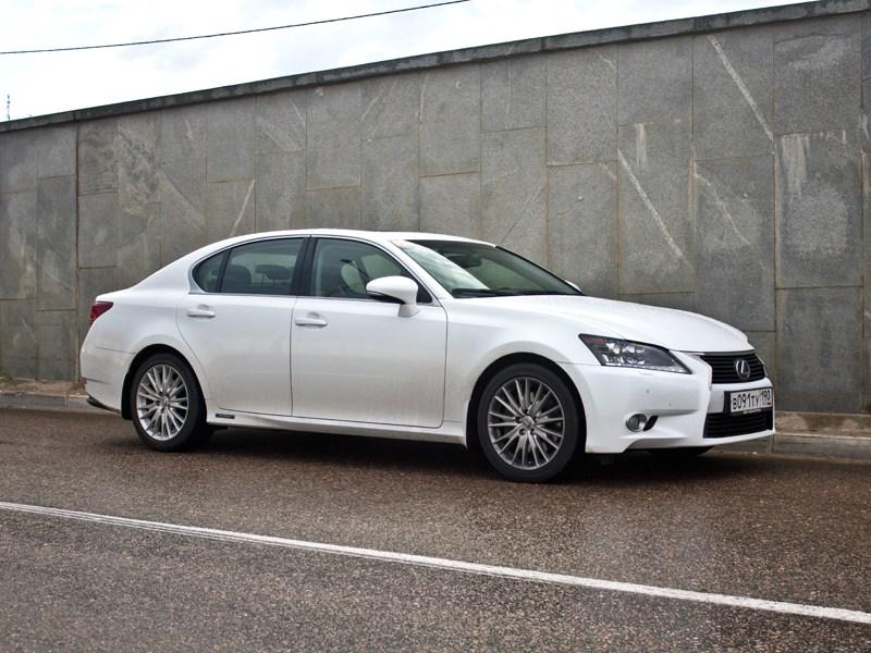 Lexus GS450h 2012 вид сбоку