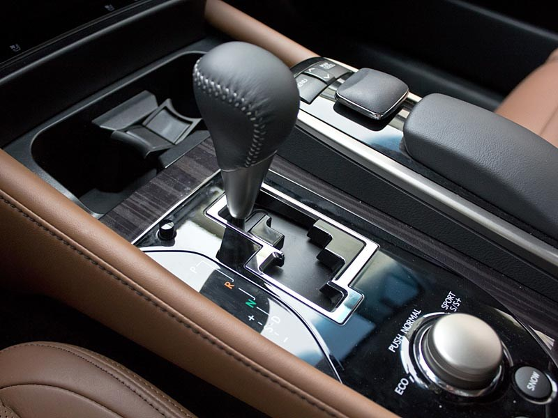 Lexus GS450h 2012 вариатор