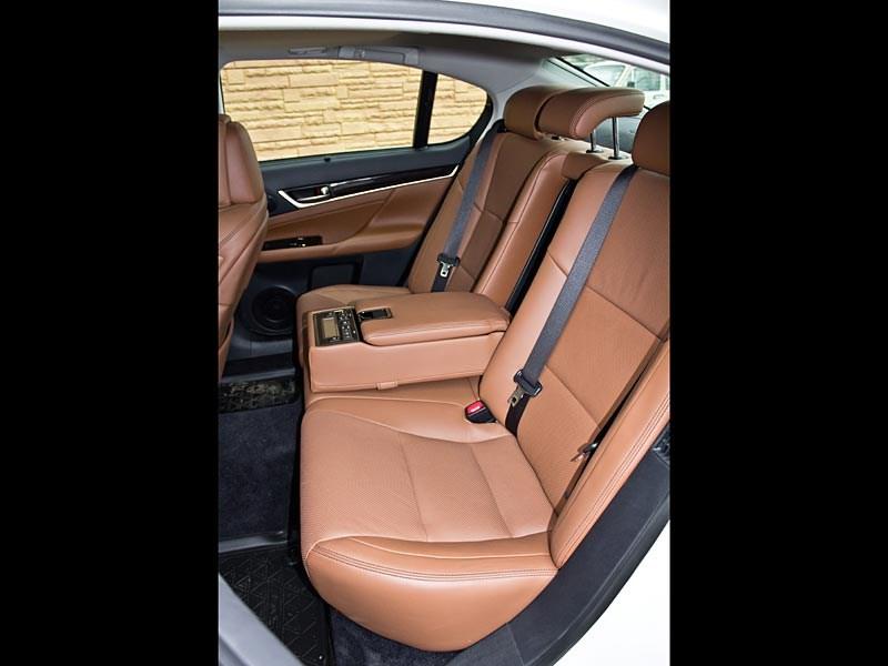 Lexus GS450h 2012 задний диван