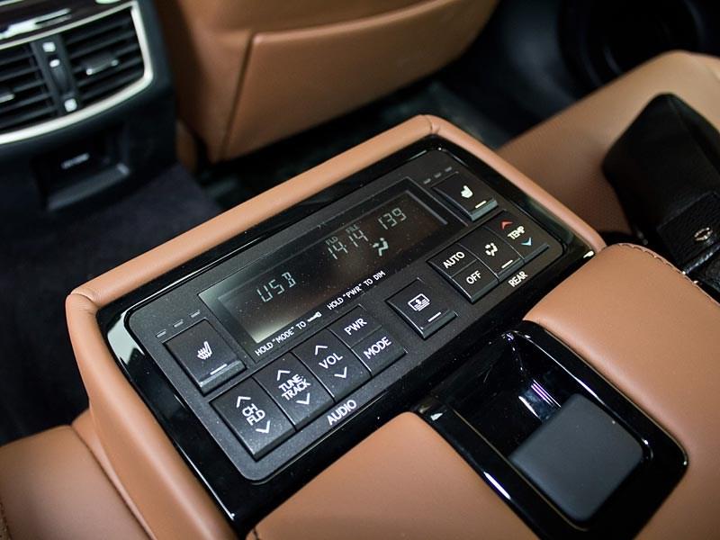 Lexus GS450h 2012 пульт управления мультимедийной системой и климат-контролем