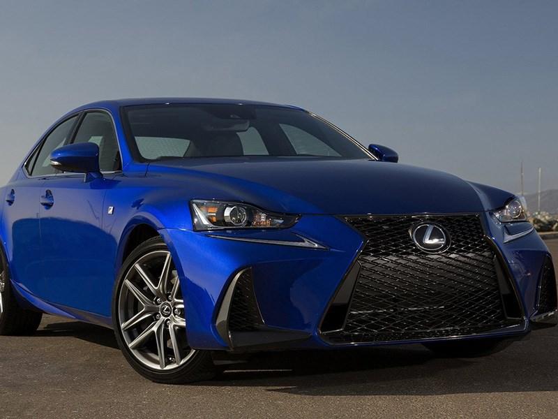 Lexus IS: объявлены цены и комплектации