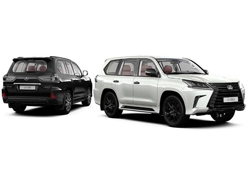 Lexus LX получил в России новую спецверсию