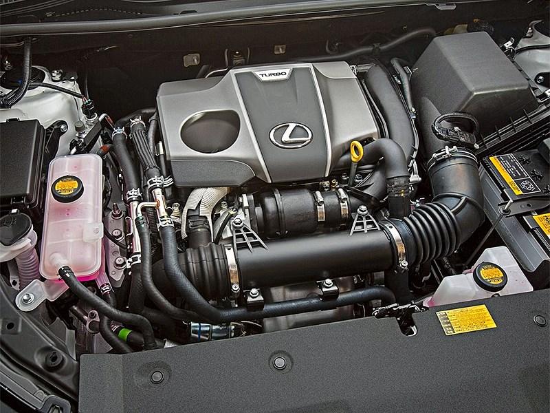 Lexus NX 2014 двигатель